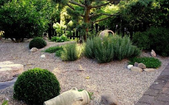 Comment cr er un jardin sur graviers sem jardin for Jardin de gravier